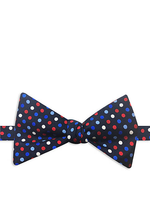 Happy Ties Reversible Multi Dot Bow Tie