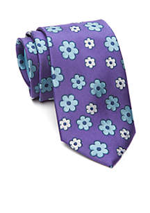 Woven Flower Tie