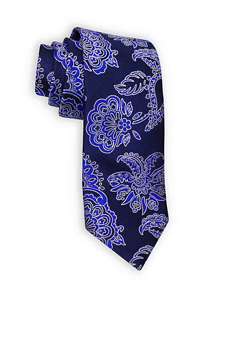 Happy Ties Mens HT Paisley Two Tone Woven