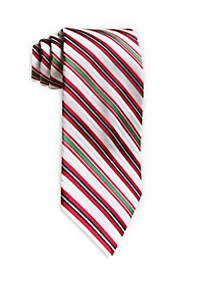 Metallic Stripe Tie