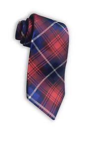 Patriotic Plaid Tie