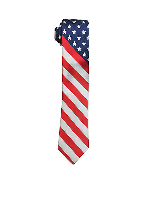 Hallmark Stars and Stripes Tie
