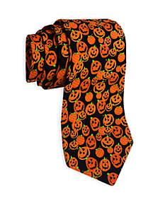 Pumpkin Print Tie