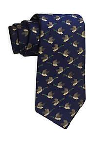 Duck Print Tie