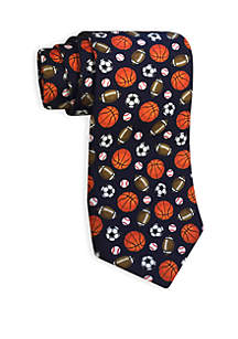 Sports Print Tie