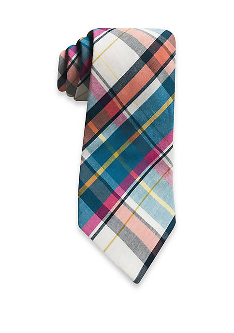 Hallmark Multi Colored Plaid Tie