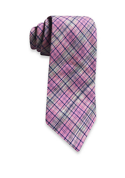 Small Plaid Tie