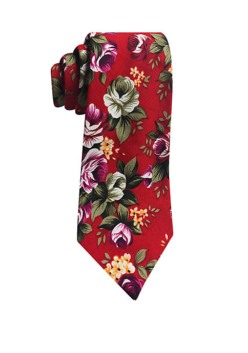 Hallmark Spaced Roses Tie