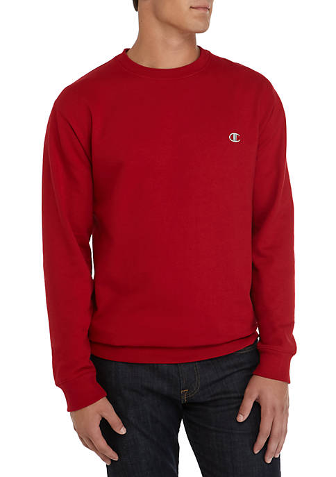 Champion® Big & Tall Fleece Crew Neck Shirt