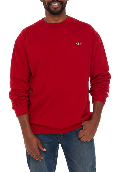 Champion® Big & Tall Fleece Crew Neck Shirt