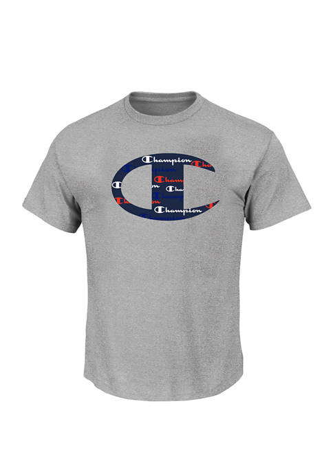 Champion® Big & Tall Graphic Logo T-Shirt