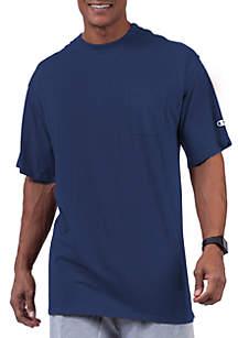 Big & Tall Short Sleeve Jersey Pocket Tee