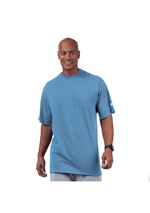 Champion® Big & Tall Short Sleeve Jersey Pocket
