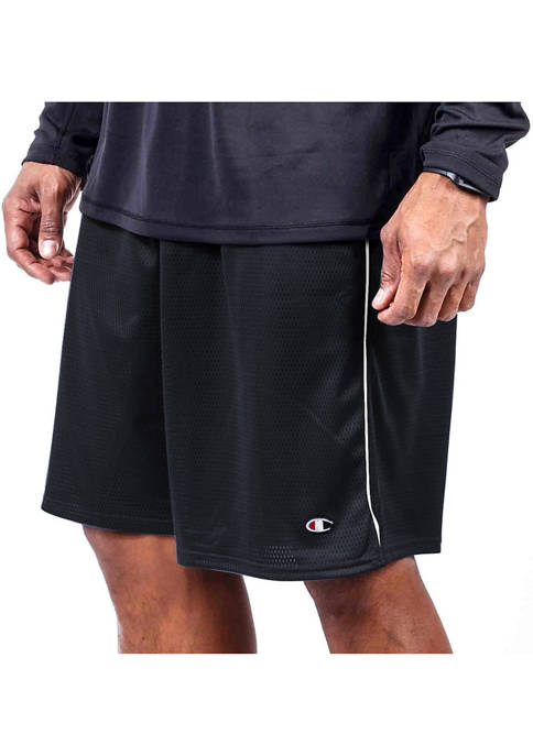 Big & Tall Solid Mesh Shorts