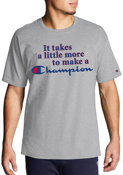 Champion® Big & Tall Short Sleeve Graphic T-Shirt