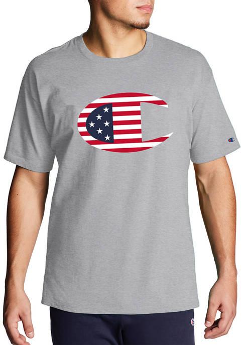 Big & Tall Large Logo Graphic T-Shirt