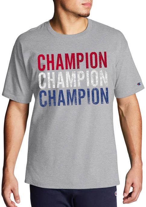 Champion® Big & Tall Short Sleeve Triple Block