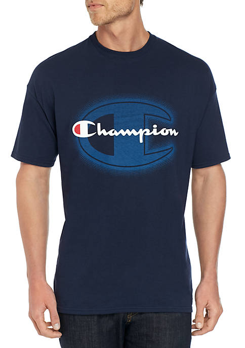 Champion® Big & Tall Inside C Short Sleeve