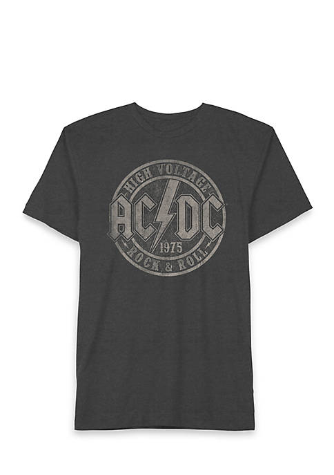 ACDC High Voltage Rock Short Sleeve Graphic T-Shirt