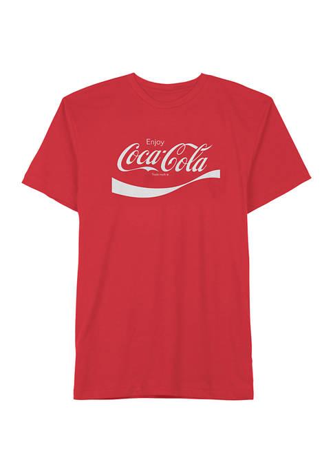 Coca-Cola Classic Logo Graphic T-Shirt