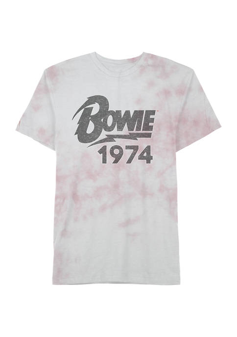 Bowie 1974 Short Sleeve Graphic T-Shirt