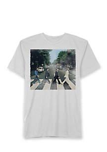Short Sleeve Beatles Abbey Road Graphic Tee