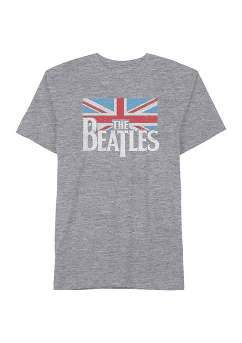 Beatles UK Flag Graphic T-Shirt