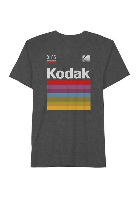 Big & Tall Kodak Movie Camera T-Shirt