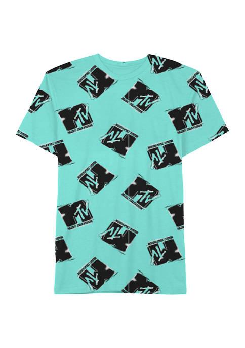 MTV Glitch Mint Graphic T-Shirt