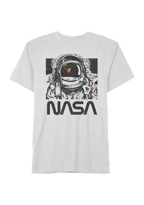 Nasa Graphic Space Man Short Sleeve T-Shirt
