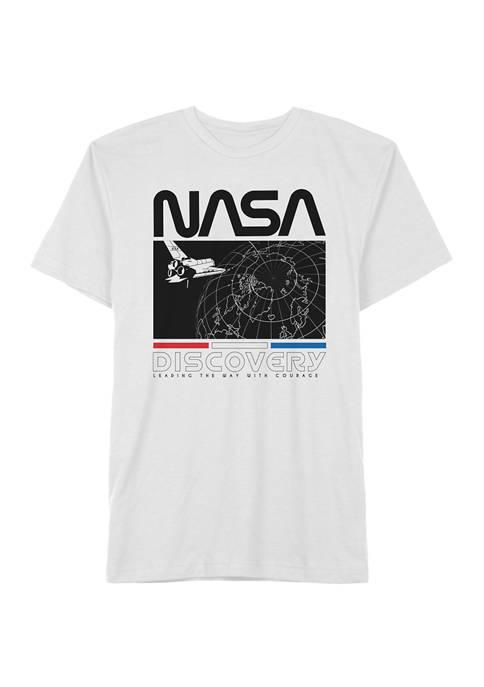 NASA Big & Tall Casual Graphic T-Shirt