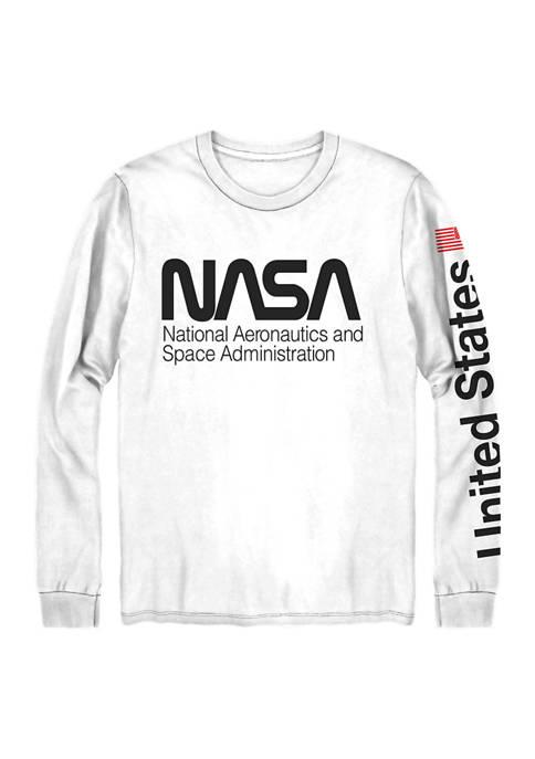 Columbia Long Sleeve NASA Graphic T-Shirt