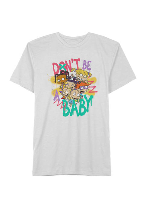 Nickelodeon™ Short Sleeve White Rugrats Dont Be A