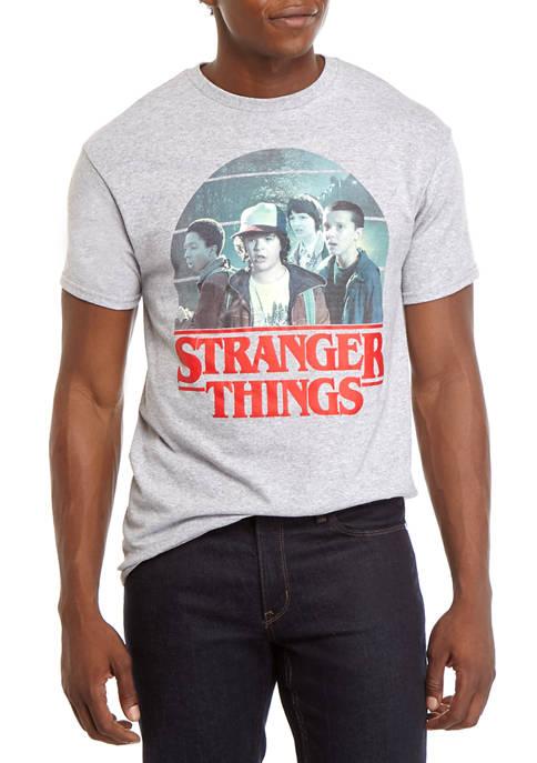 Mens Short Sleeve Stranger Things T-Shirt