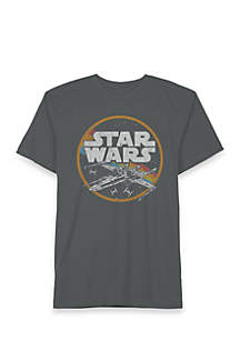 Well Worn Star Wars X-Wing Space Tee