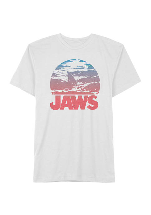 Jaws Big & Tall Casual Graphic T-Shirt