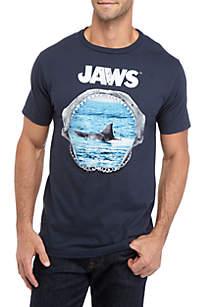 Well Worn Junior's Jaws Scene Graphic T-Shirt