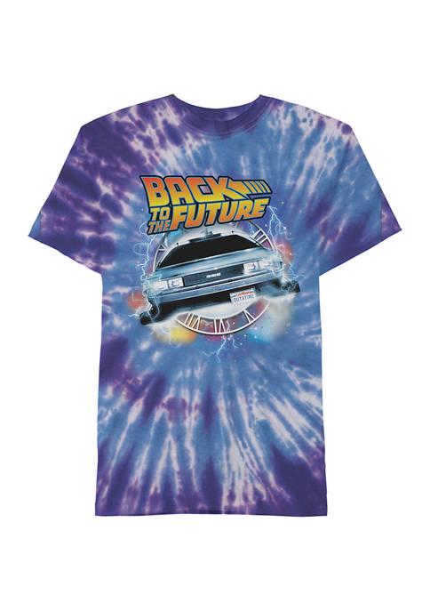 Spiral Tie-Dye Graphic T-Shirt