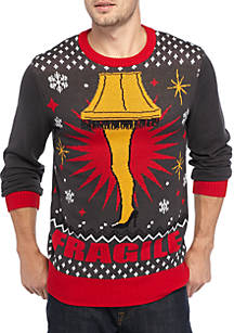 well worn leg lamp a christmas story sweater