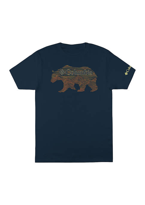 Columbia Short Sleeve Hibernating Bear T-Shirt