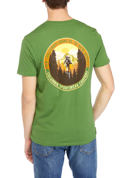Short Sleeve New Challenges Graphic T-Shirt
