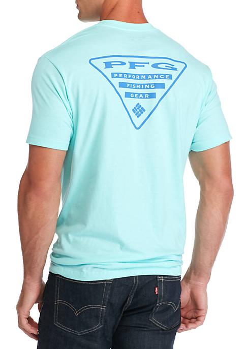 Columbia PFG Short Sleeve Triangle Graphic Tee