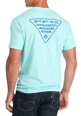 9ca5fab589b Columbia PFG Short Sleeve Triangle Graphic Tee ...