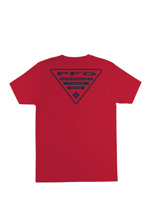 Columbia PFG Short Sleeve Triangle Graphic T-Shirt