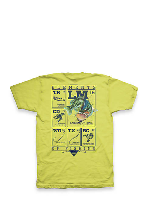 PFG Elements Large Mouth Bass Short Sleeve Graphic Tee