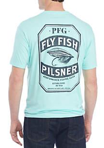 Pilsner Fly Fish Tee Shirt