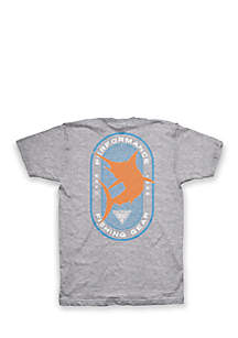 Big & Tall PFG Marlin Outline Tee