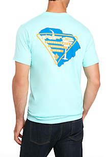 Short Sleeve PFG Triangle Logo T-Shirt