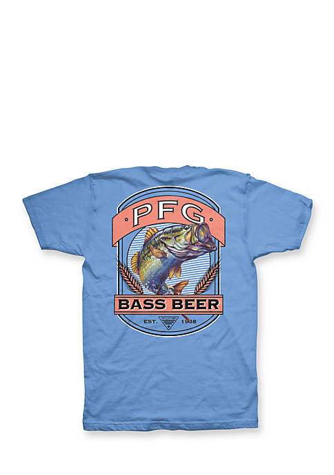 Columbia Big & Tall Fish and Pilsner Tee