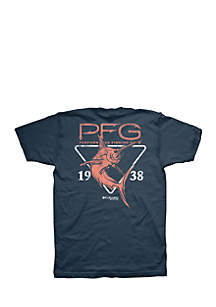 Short Sleeve Marlin Triangle PFG